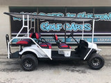Custom EZGO Limo Golf Cart 72v