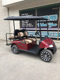 2015 EZGO RXV - Inferno Red w/ Tan *SOLD*