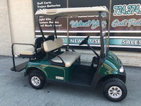 2018 EZGO RXV Electric Golf Cart with LED Lights and Rear Seat