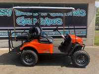 2019 EZGO S4- Orange Golf Cart **SOLD**