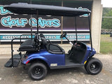 2019 EZGO Gas Valor - Electric Blue