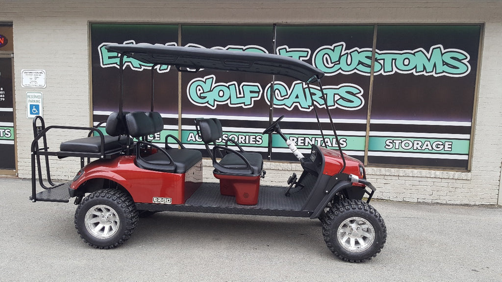 2018 Gas EZGO Golf Cart - 6 Passenger - SOLD