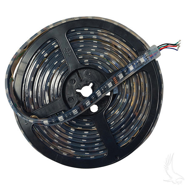 RGB 16' Flexible LED Light Rolls w/ Wire Leads
