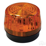 Amber LED Strobe Light 12-24VDC