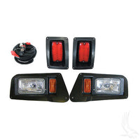 RHOX Light Kit with Adjustable Halogen Headlights for Yamaha Drive Golf Cart