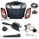 Build Your Own EZGO RXV LED Light Bumper Bar Kit Street Package