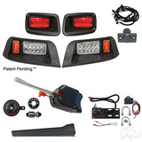 Build Your Own EZGO TXT 96-13 Adjustable LED Light Kit Street Package