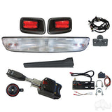 Build Your Own EZGO TXT 96-13 Halogen Light Bar Kit Street Package