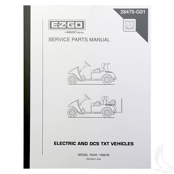 EZGO DCS Electric 98-99 Service Manual