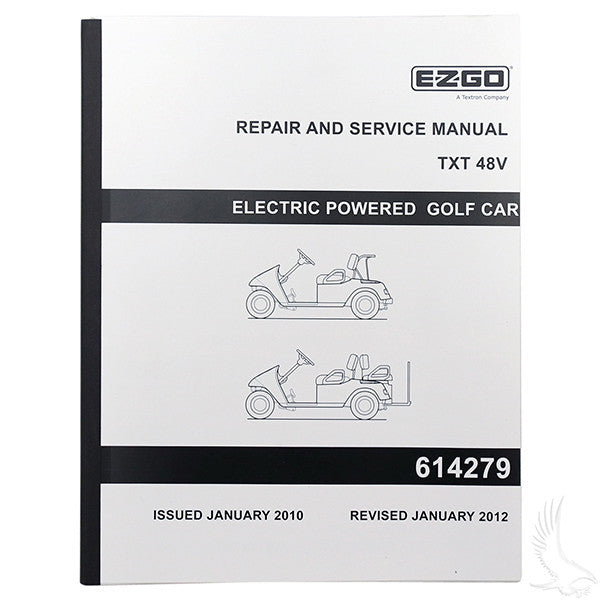 EZGO TXT Electric 48V Service Manual