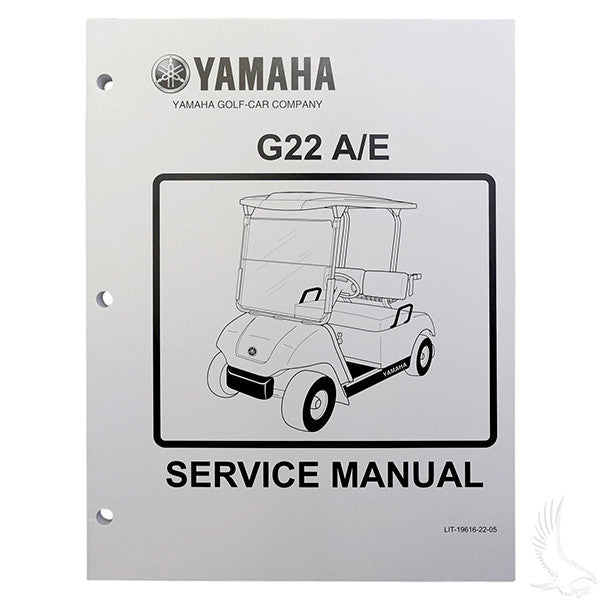 Yamaha G22 03-06 Service Manual