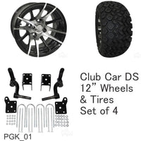 Club Car DS Lift Kit Combo