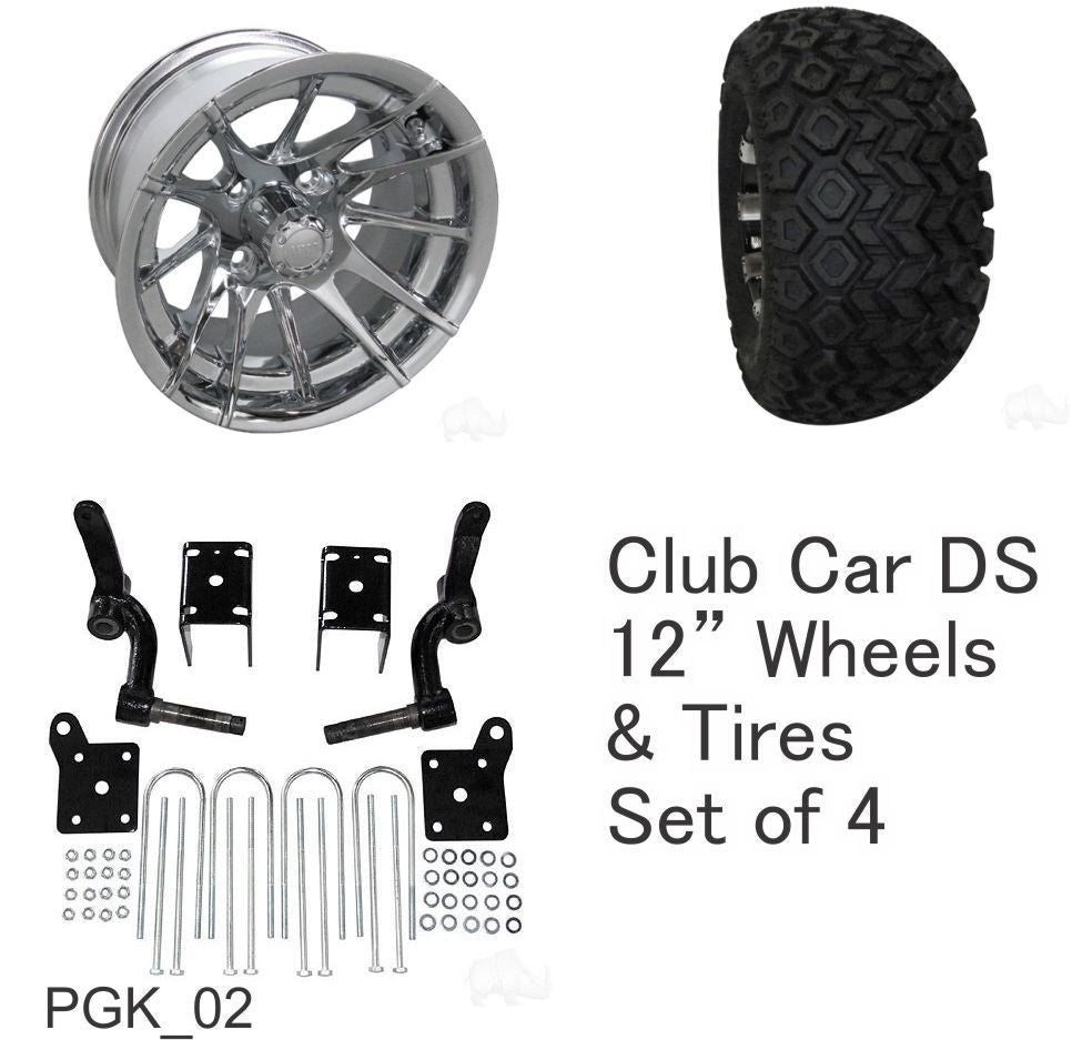 Rhox 23 Quot Tire 12 Quot Wheel And 6 Quot Lift Kit Combo Package For