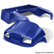 DoubleTake Phantom Golf Cart Body Kit For Club Car Precedent Blue