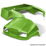 DoubleTake Phantom Golf Cart Body Kit For Club Car Precedent Lime