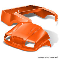 DoubleTake Phantom Golf Cart Body Kit For Club Car Precedent Orange