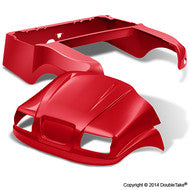 DoubleTake Phantom Golf Cart Body Kit For Club Car Precedent Red