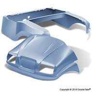 DoubleTake Phantom Golf Cart Body Kit For Club Car Precedent Sky Blue