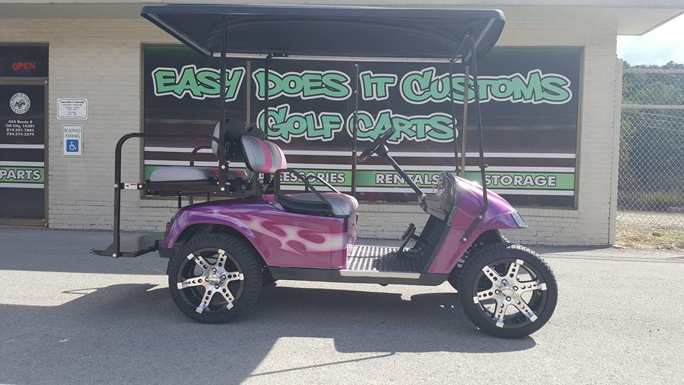 2008 Electric Custom Tribal EZGO TXT 4 Passenger Golf Cart - SOLD!