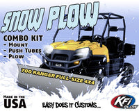POLARIS 700 Ranger Full-Size 4x4 2009