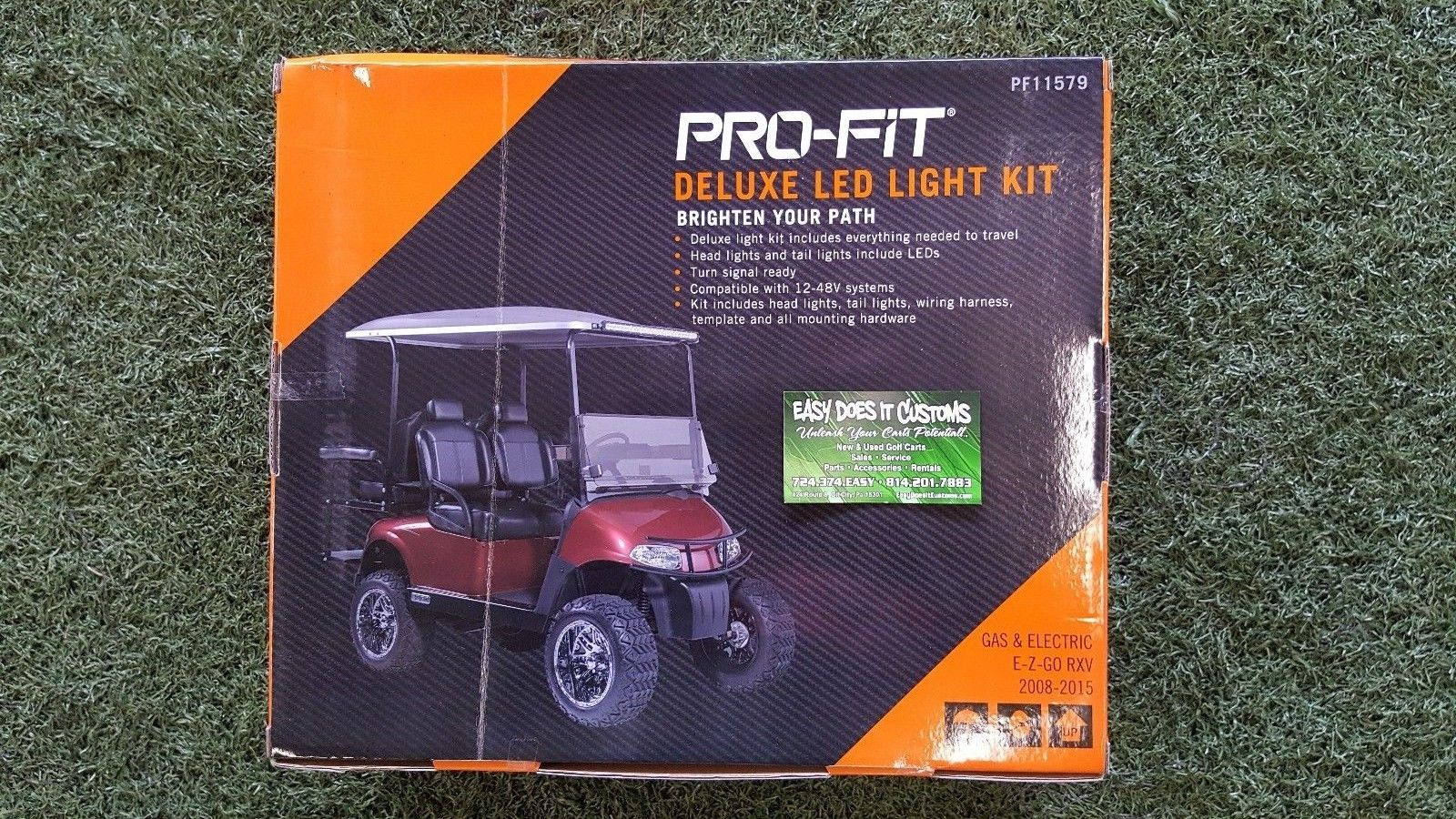 Deluxe Led Light Kit For Ezgo Rxv Golf Cart 2008 2015 Easy Does It Wiring Harness