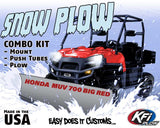 Honda MUV 700 Big Red Snow Plow Package