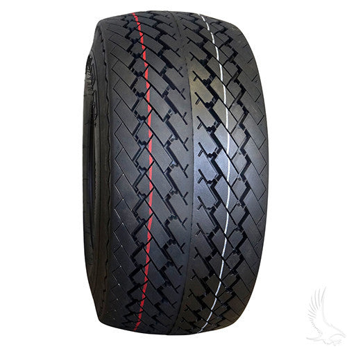 "RHOX DURO Excel Sawtooth 8"" Golf Cart Tires, 6 Ply"