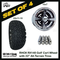 RHOX Golf Cart Accessories | Easy Does It Customs LLC Do Golf Cart Tires Need To Be Balanced on