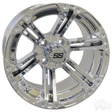 RHOX RX352, Chrome w/ Center Cap, 14x7 ET-25