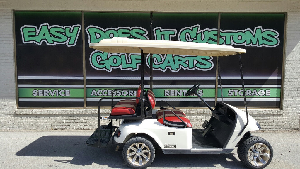 2012 Electric EZGO TXT 4 Passenger Golf Cart - SOLD