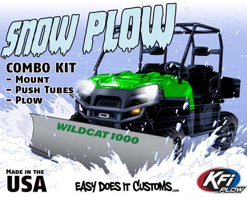 ATV, Side-by-Side & UTV Parts & Accessories Auto Parts and Vehicles 105590 KFI Products Hybrid Base/Push Tube and Plow Mount System