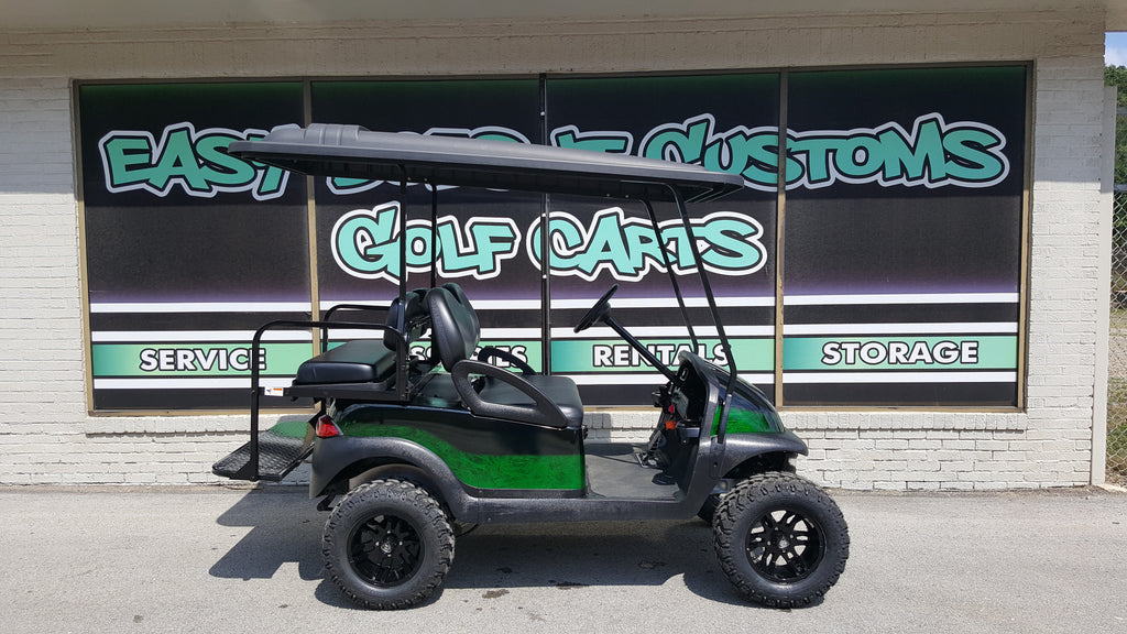 2011 Electric Club Car Precedent Golf Cart - Green Marble - SOLD