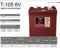Trojan T-105 Battery at Easy Does It Customs