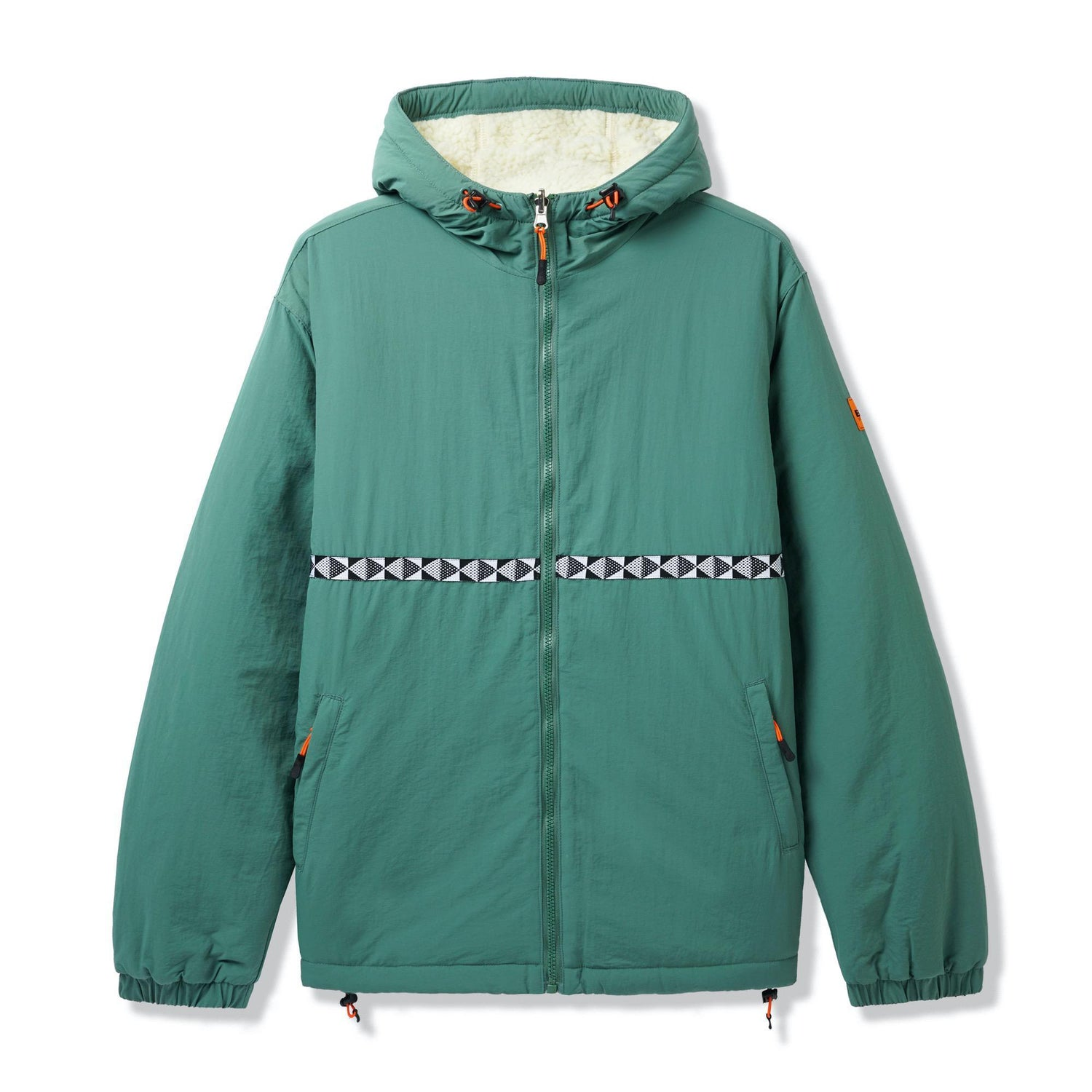 Base Camp Reversible Sherpa Jacket, Sage / Natural