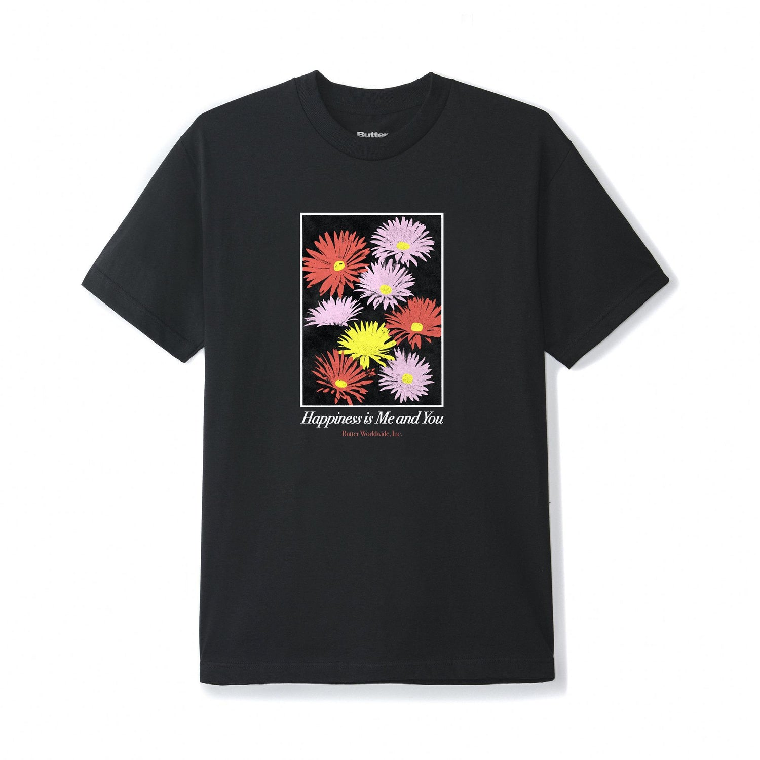 Happiness Tee, Black