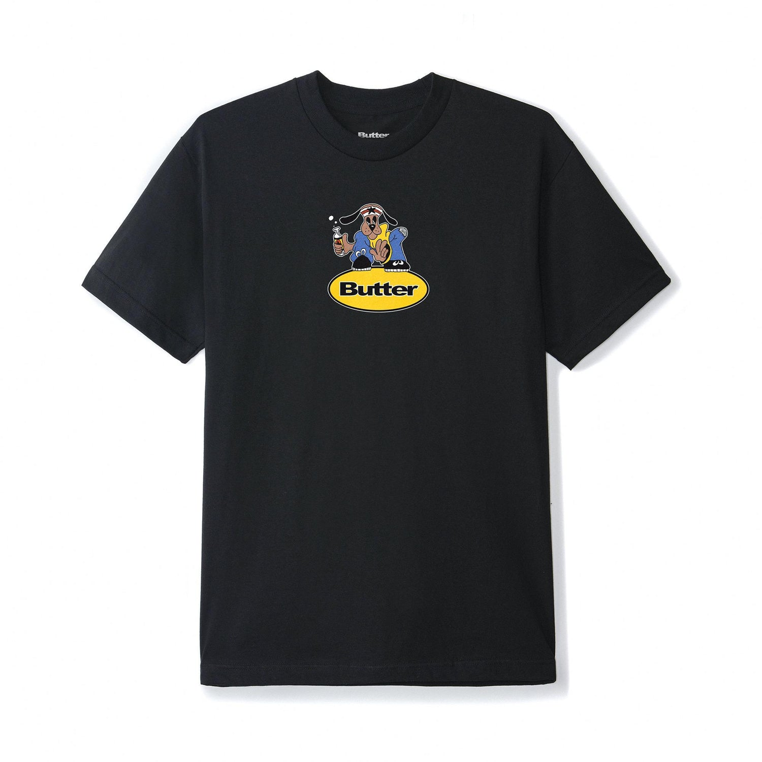 Homeboy Badge Tee, Black
