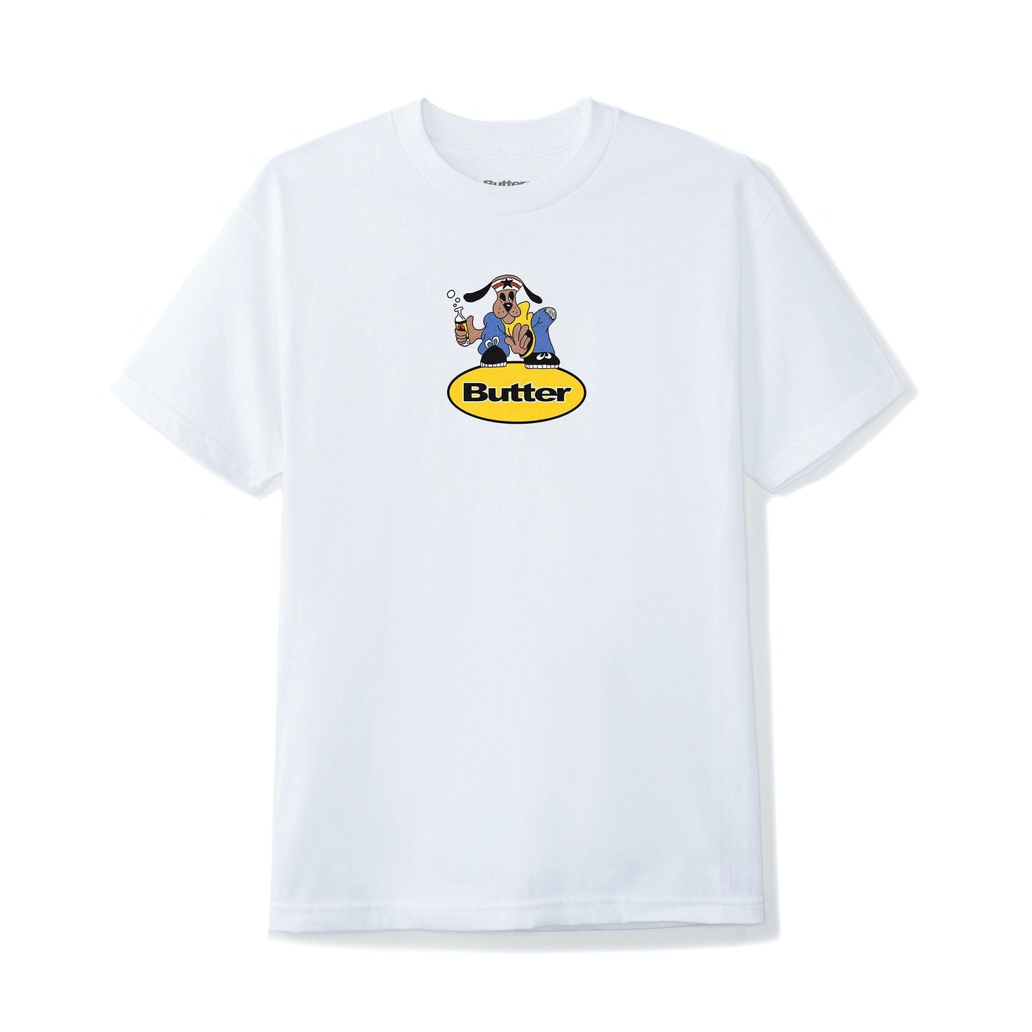 Homeboy Badge Tee, White