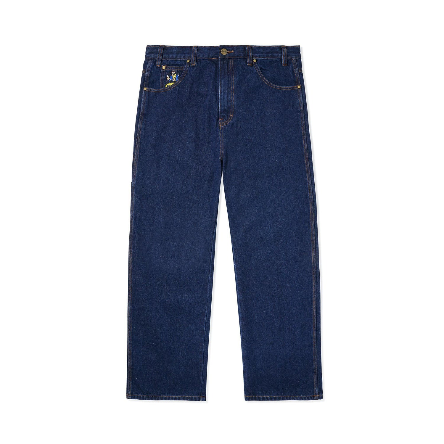Homeboy Denim Pants, Indigo