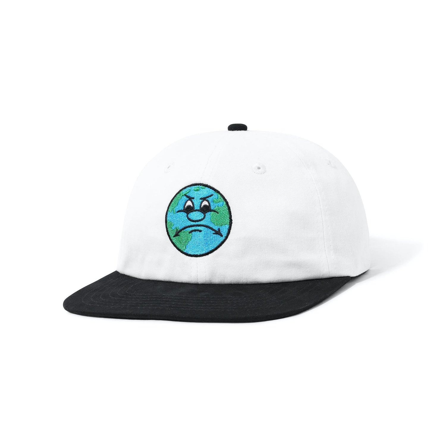 World 6 Panel, White / Black