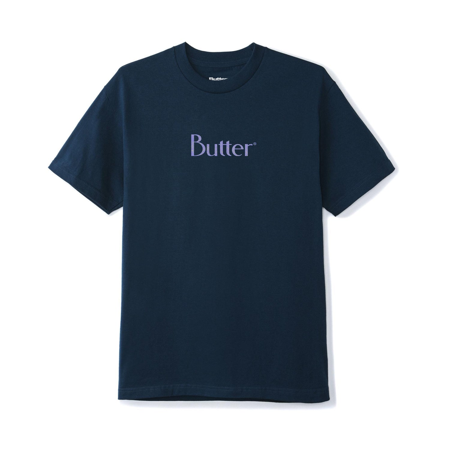 Speckle Classic Logo Tee, Navy