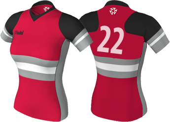 Elite Pro Rugby Jersey<br>Lightweight Summer 7's<br>WOMEN - TIGHT FIT