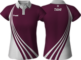 S-Line Sublimated Polo<BR>Traditional Collar<br>WOMEN