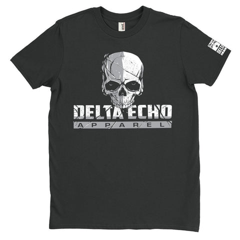 DeltaEchoApparel Shirt M / BLACK MEN'S T-SHIRT - DELTAECHO APPAREL