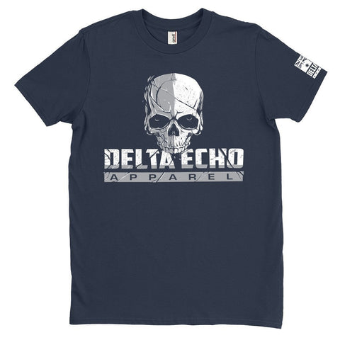 DeltaEchoApparel Shirt M / NAVY BLUE MEN'S T-SHIRT - DELTAECHO APPAREL