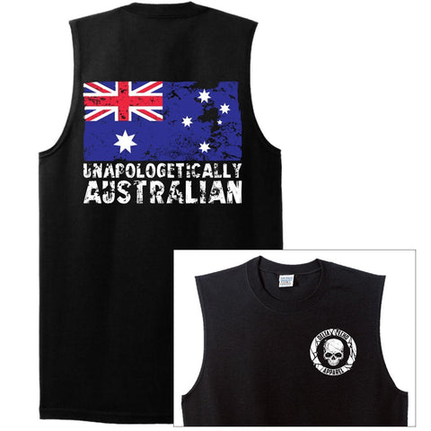 DeltaEchoApparel Shirt MUSCLE TOP / M MEN'S T-SHIRT - UNAPOLOGETICALLY AUSTRALIAN