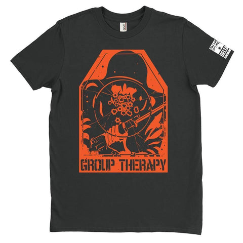 DeltaEchoApparel Shirts M / BLACK MEN'S T-SHIRT - GROUP THERAPY