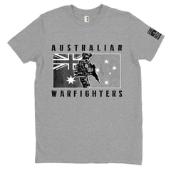 DeltaEchoApparel Shirts M / GRAY MEN'S T-SHIRT - AUSTRALIAN WARFIGHTERS