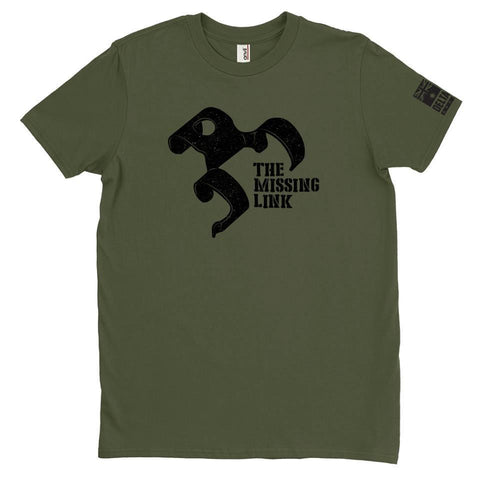 DeltaEchoApparel Shirts M / GREEN MEN'S T-SHIRT - THE MISSING LINK