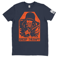 DeltaEchoApparel Shirts M / NAVY BLUE MEN'S T-SHIRT - GROUP THERAPY