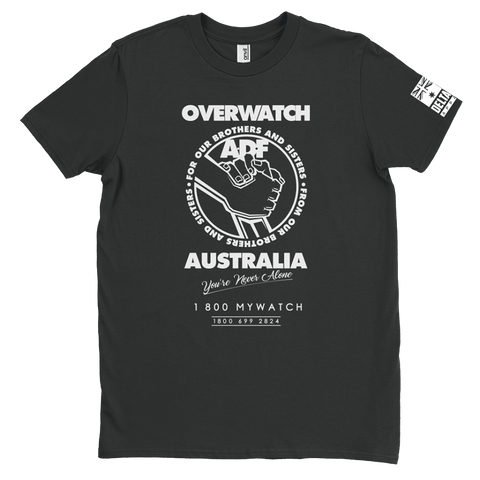 DeltaEchoApparel Shirts MALE / BLACK / M OVERWATCH AUSTRALIA - T-SHIRT